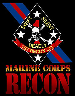 Marine Corps Recon Patch