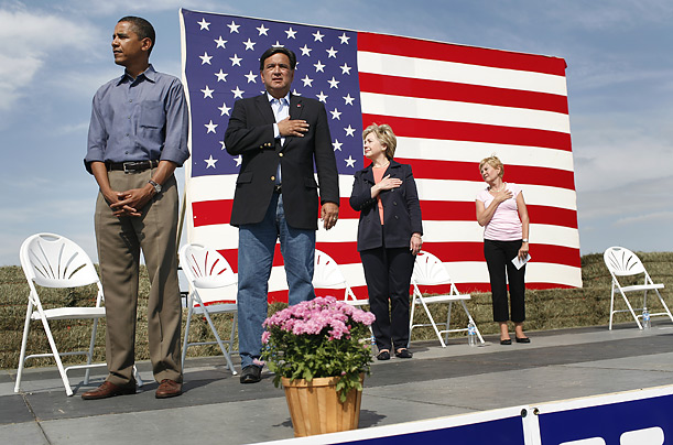 Obama No Respect for Flag