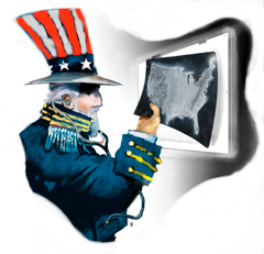 Uncle sam x-ray