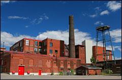 Shuttered-factory