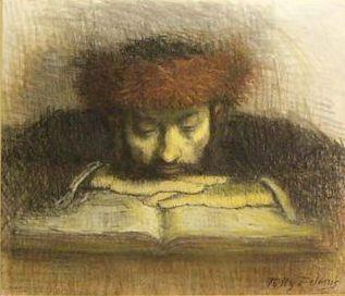 Contemplating_seforim_minhagim_sefard_ashkenaz_learning_chassid