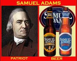 Sam adams - patriot & beer